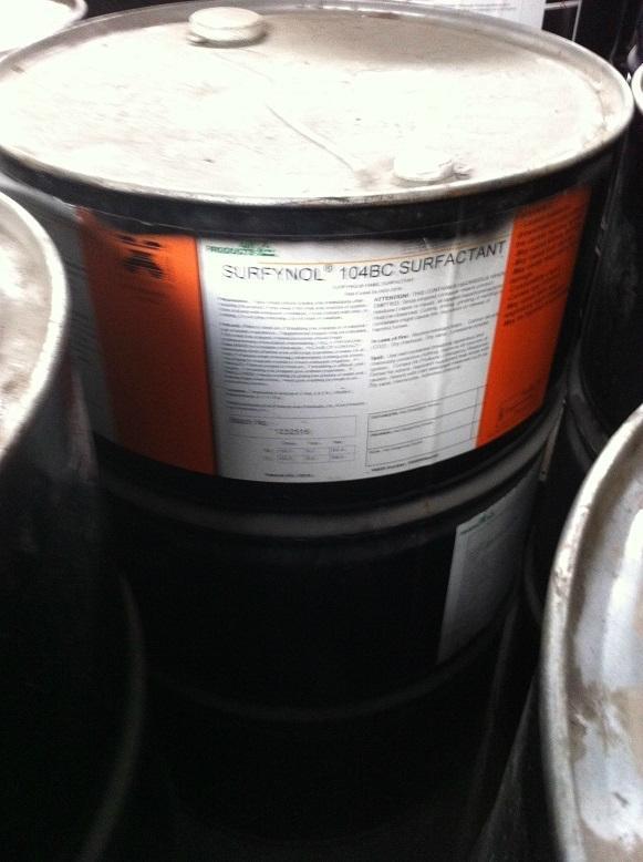 美國空氣化工消煩惱表面活性劑SURFYNOL 104BC 1