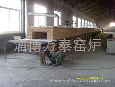 陶瓷壁畫輥道窯爐 1
