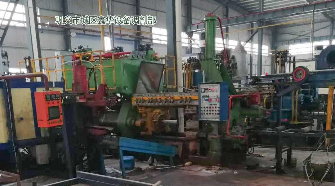 转让二手铝型材挤压机660吨全套设备 1