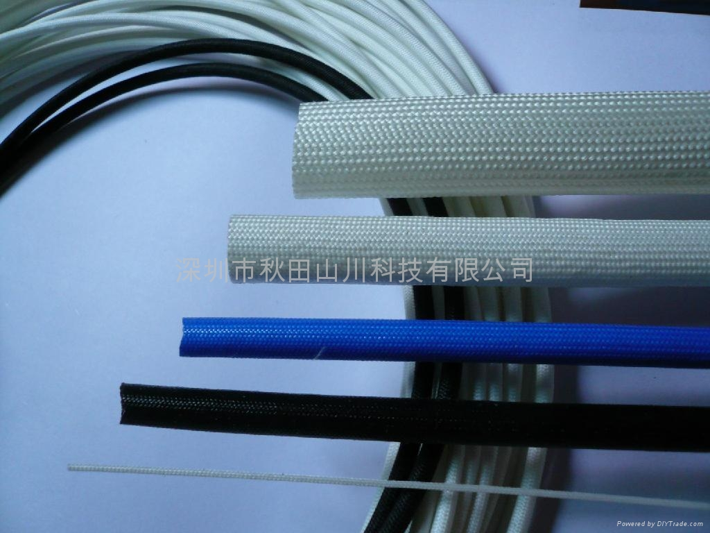 Silicone Resin Coated fiberglass sleeving 2