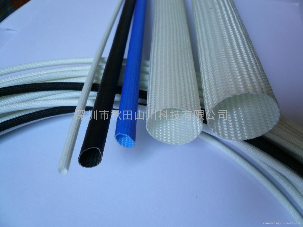 Silicone Resin Coated fiberglass sleeving 3