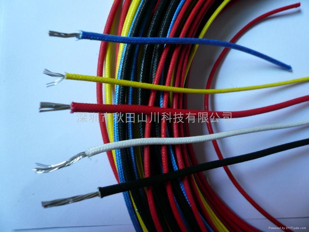 耐高温硅胶电线   1