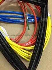 玻纤管 硅胶纤维管 耐高温套管