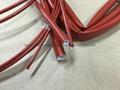 硅橡胶玻璃纤维(内纤外胶)套管 6