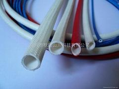 硅橡膠玻璃纖維套管(內膠外纖)