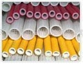 Silicone rubber fiberglass (rubber inside and fiber outside) sleeving 3