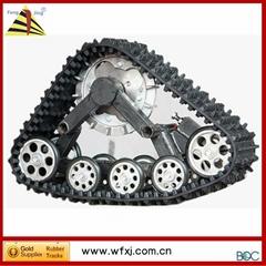 供应雪地车履带/ATV沙滩车履带 履带行走系统