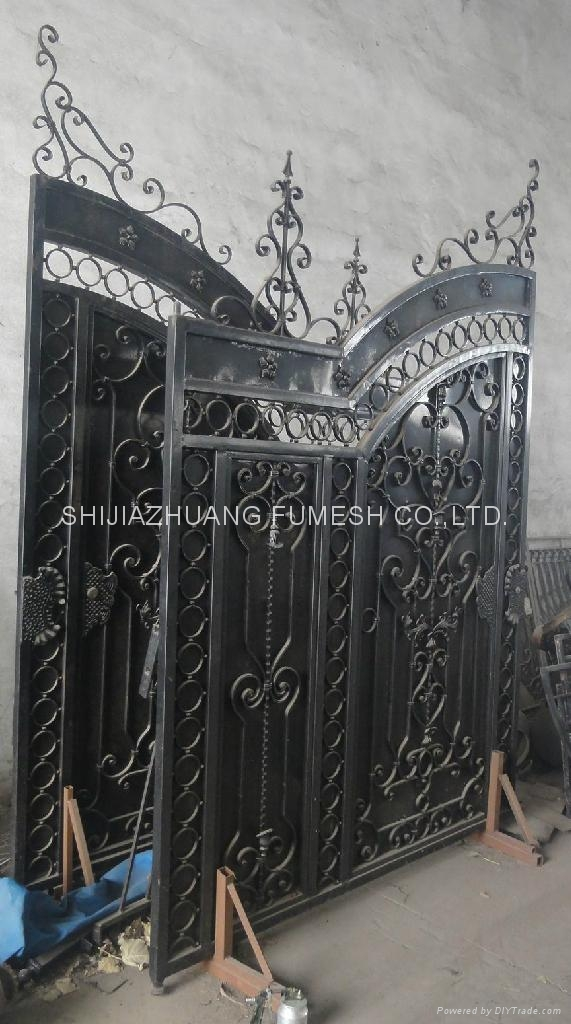 Steel gate and fence 2