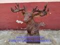 Cast iron deer