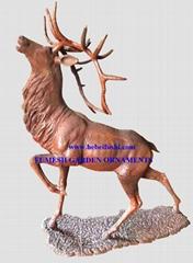 Cast iron deer2