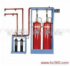 廣州番禺振興消防七氟丙烷氣體滅火系統FM200.GQQ150