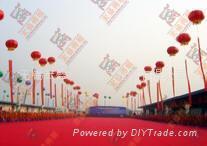 无锡高空广告气球租赁 3
