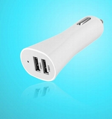 24W Dual USB Car chargers