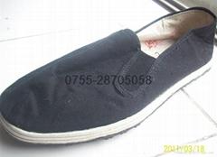 工作鞋(黑布鞋)3520