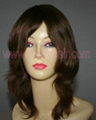 human hair wigs, synthetic hair wigs 2