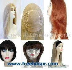human hair wigs, synthetic hair wigs 1