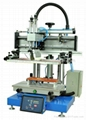 Mini Flat Screen Printing Machine with T-solt Worktable