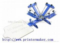 Manual 4 Color Screen Printing Machine
