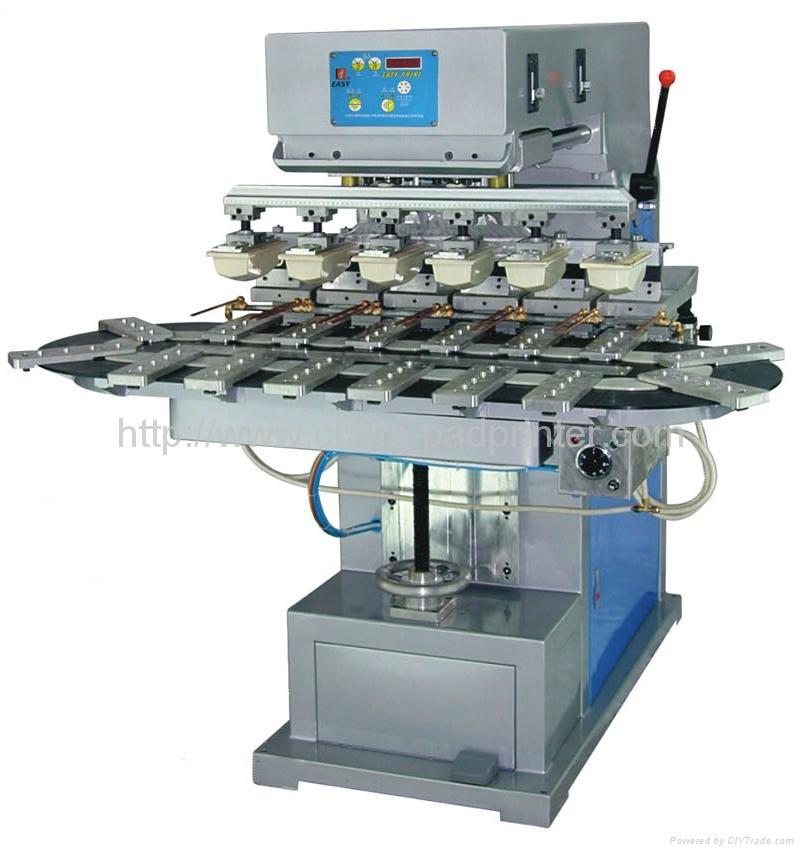 Six Color Pad Printing Machine L6 C Easy China