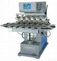 Six Color Pad Printing Machine