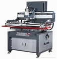 Flat Screen Printing Machine with Vacuum Working Table
