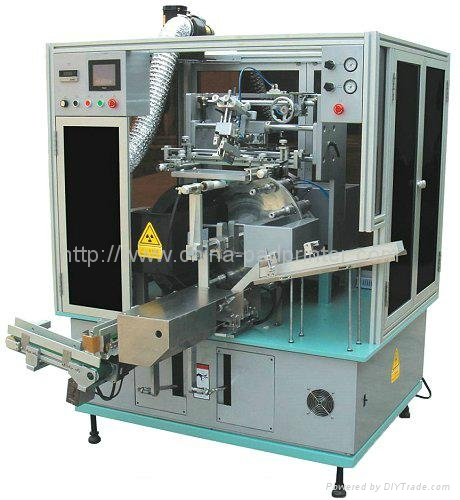 Single Color Automatic Screen Printer Machines for Soft Tubes   1