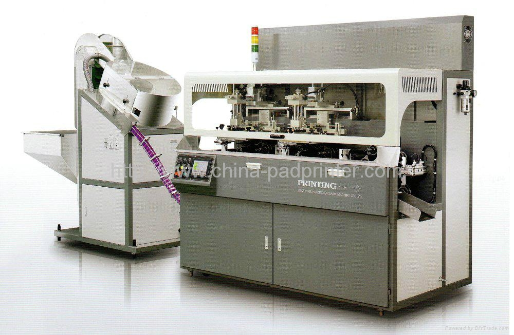 Fully Automatic Chain-type Multicolor Screen Printing Machine   1