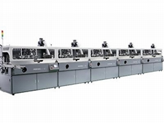 S102 1-8colors auto screen printer for bottles