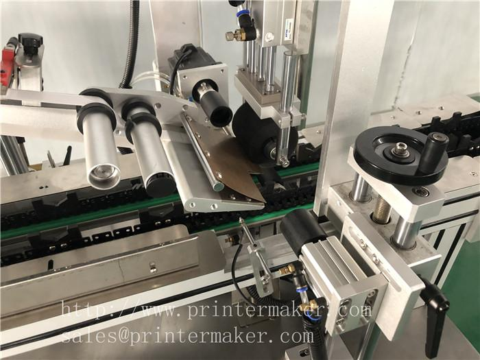 Automatic Labeling machine for toothbrush plastic packing box 2