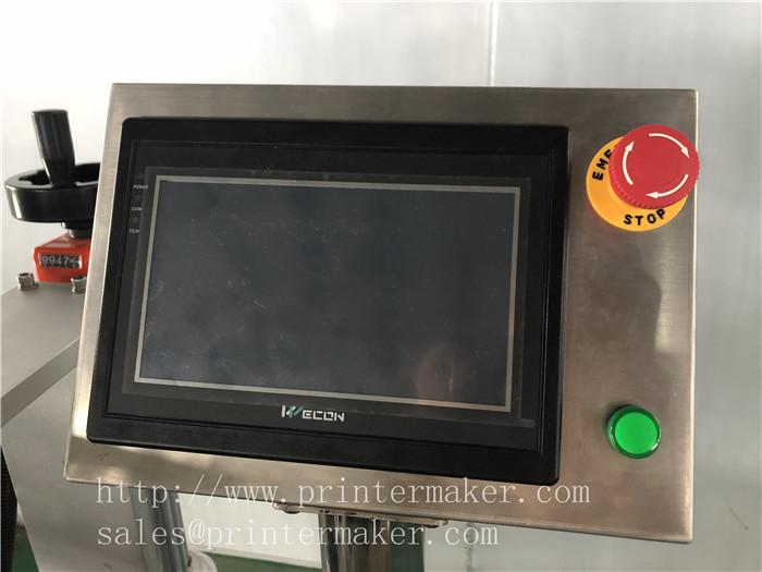 Automatic Labeling machine for toothbrush plastic packing box 11
