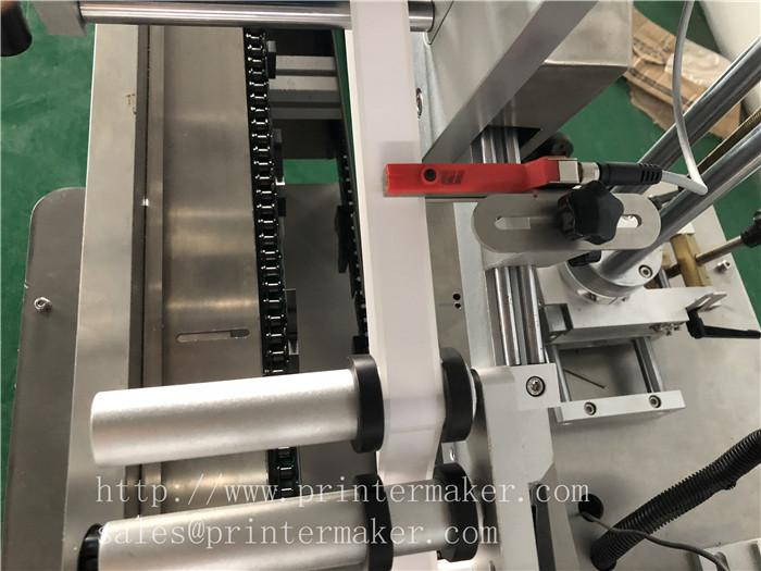 Automatic Labeling machine for toothbrush plastic packing box 13