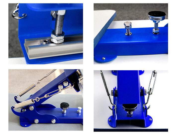 One Color T Shirt Screen Printing Press 7