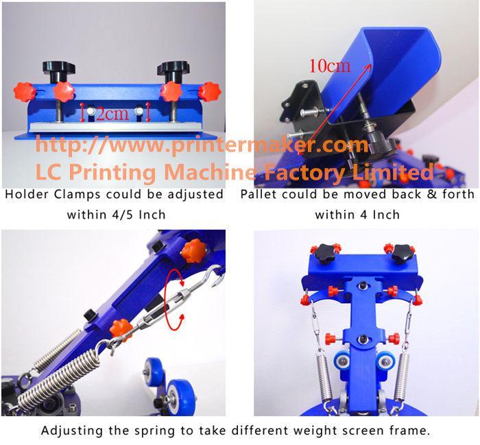 6 Color 6 Station Press Printer 3