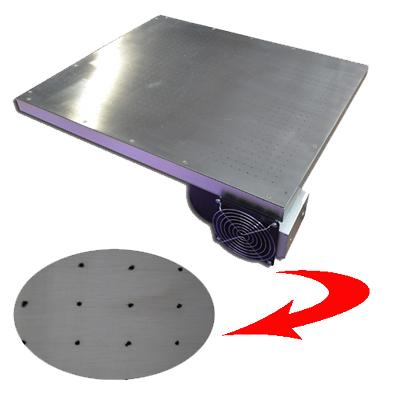 3 Color 1 Station Flash Dryer Screen Press With Stainless Steel Vacuum Pallet 2