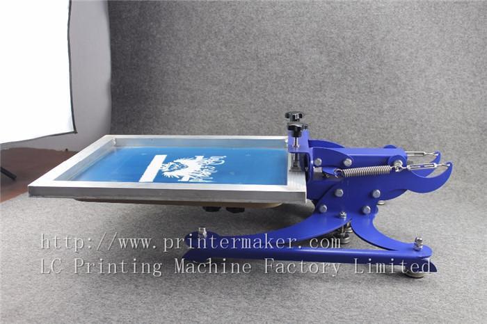 single color screen press silk screen printing machine 4