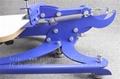 single color screen press silk screen printing machine 5