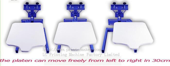single color screen press silk screen printing machine 2