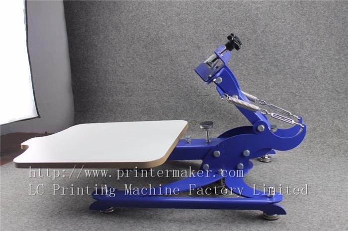 single color screen press silk screen printing machine 7