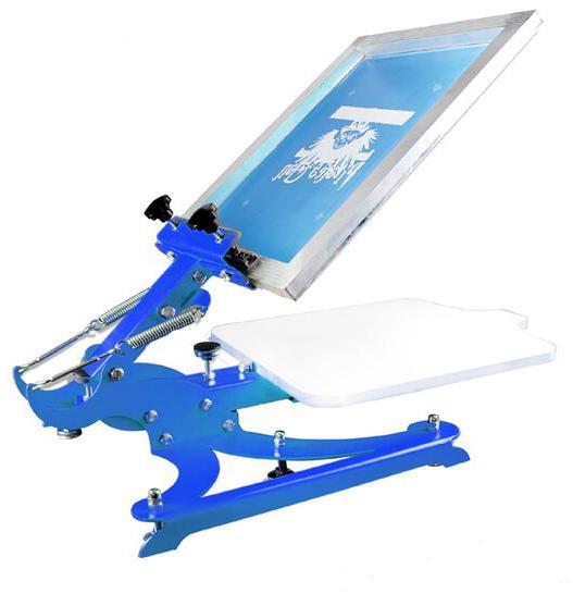 single color screen press silk screen printing machine 1