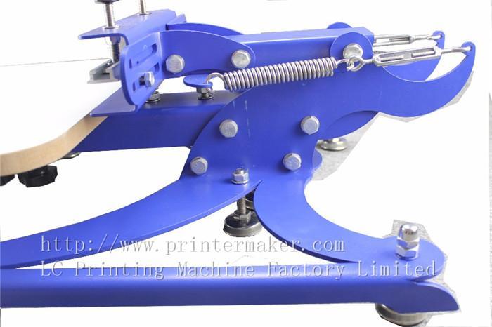 single color screen press silk screen printing machine 8