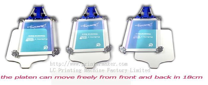 single color screen press silk screen printing machine 3