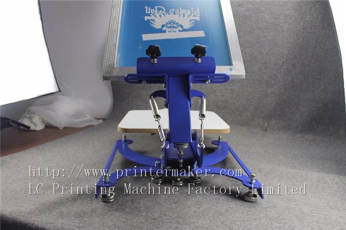 single color screen press silk screen printing machine 10