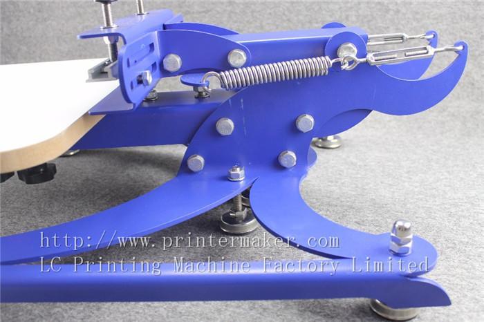 single color screen press silk screen printing machine 12