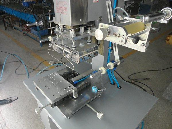 Flat Hot Stamping Machine with Shuttle Table 6