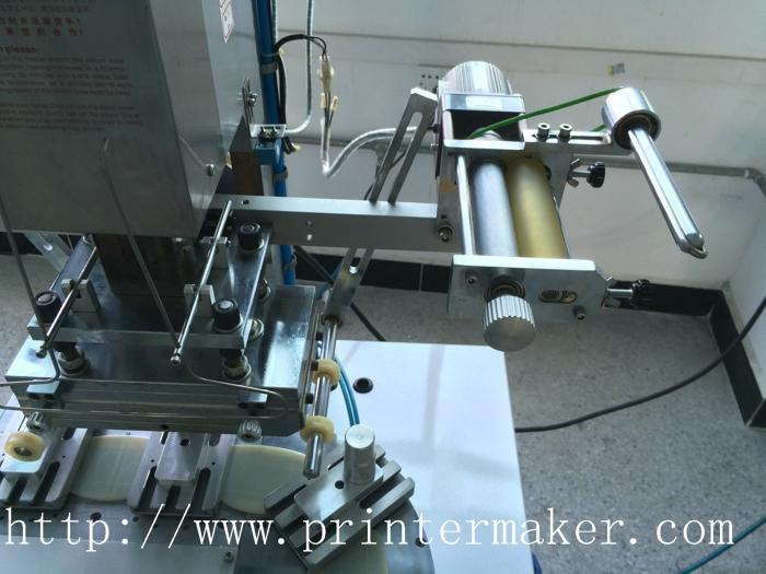 Pneumatic Flat Hot Stamper with Conveyer 2
