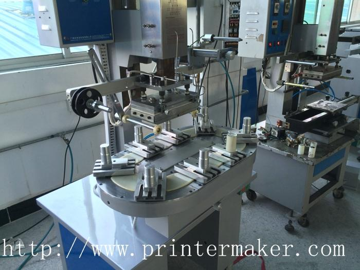 Pneumatic Flat Hot Stamper with Conveyer 5