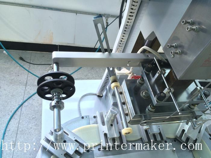 Pneumatic Flat Hot Stamper with Conveyer 8