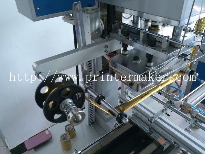 Automatic Flat and Round Hot Stamping Machine 6