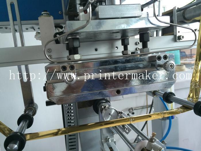 Automatic Flat and Round Hot Stamping Machine 7