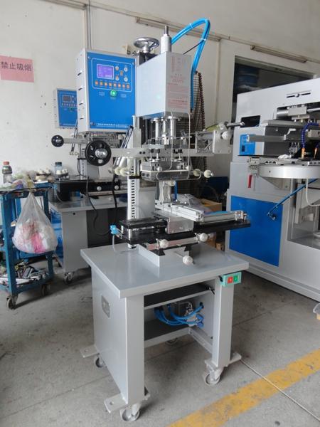 Automatic Flat and Round Hot Stamping Machine 11